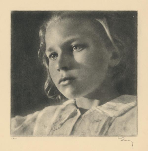 Ladislav Rozman – Portrét dievčaťa