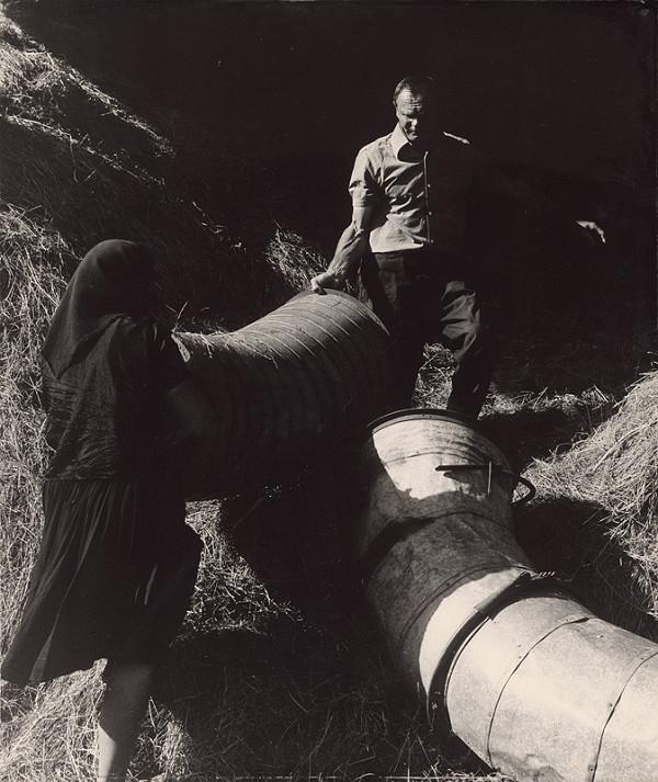 Karol Benický – Robotníci. Žatevné práce