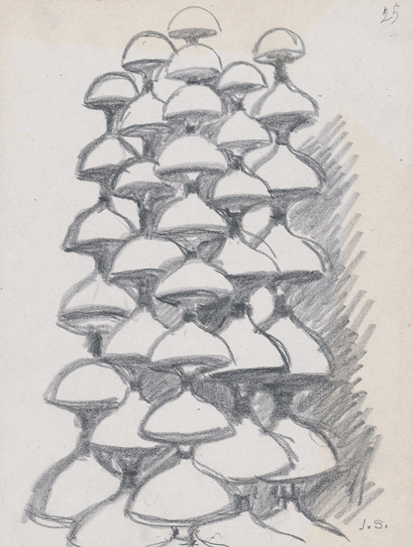 Jozef Sušienka - Návrh na stupňovitú fontánu