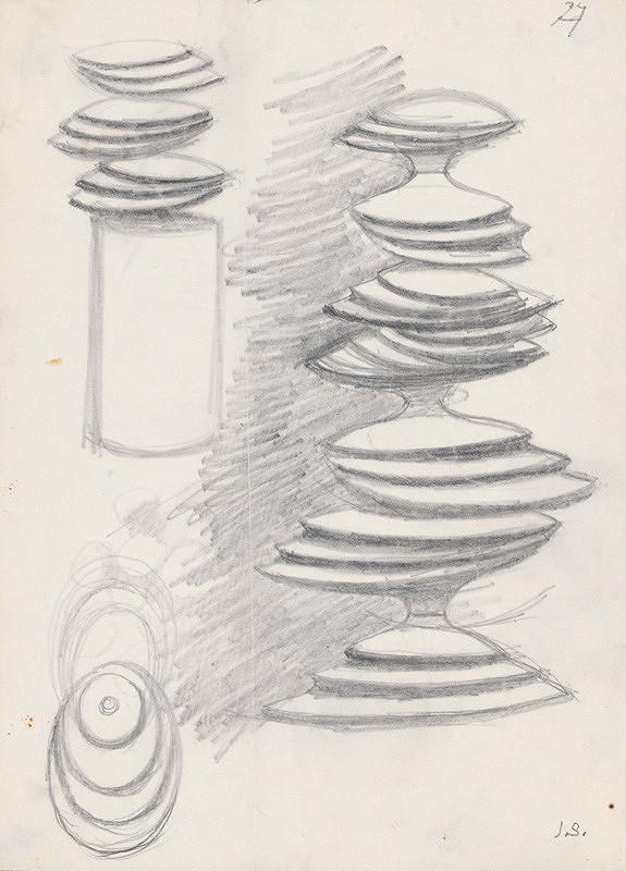 Jozef Sušienka - Návrhy na fontánu