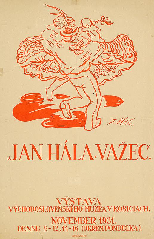 Jan Hála - Ján Hála - Važec
