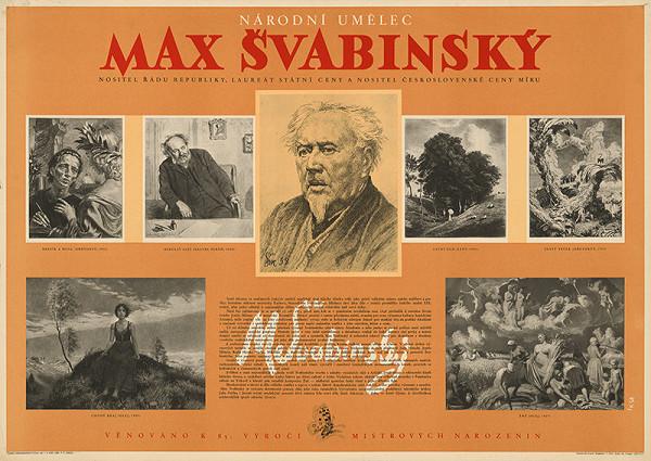 František Kopenec – Max Švabinský - národný umelec