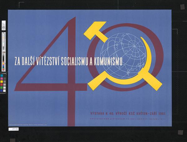 Milan Hegar - Výstava k 40.výročiu KSČ