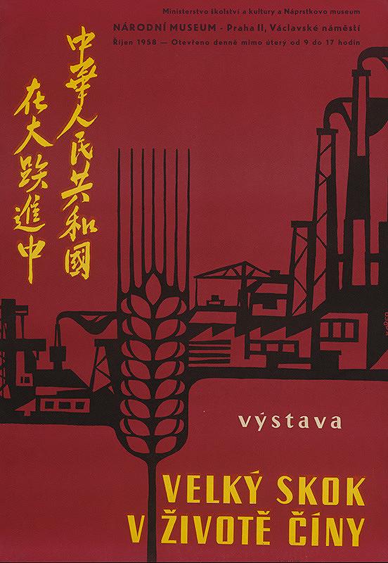 Český autor z 2. polovice 20. storočia – Veľký skok v živote Číny