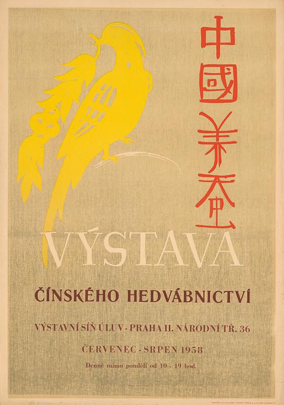 Český autor - Výstava čínskeho hodvábnictva