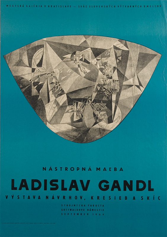 Viktor Holešťák-Holubár – Nástenná maľba - Ladislav Gandl
