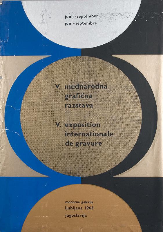 Juhoslovanský autor - V. Medzinárodná grafická výstava