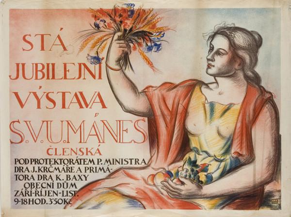 Vincenc Beneš – Stá jubilejná výstava S.V.U.Mánes