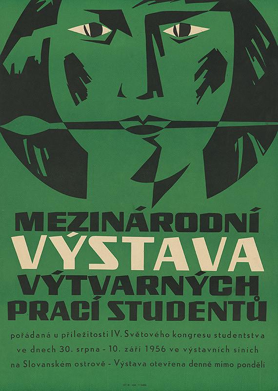 Neznámy autor – Medzinárodná výstava výtvarných prác študentov