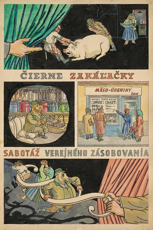 Štefan Bednár – Čierne zakáľačky