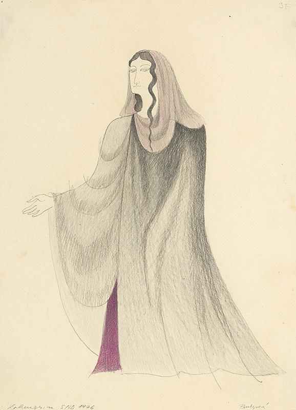 Ludmila Purkyňová – R. Wagner: Lohengrin I. Ortrud