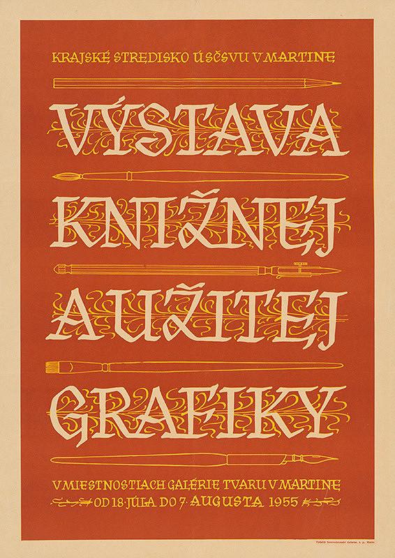 Slovenský autor – Výstava knižnej a užitej grafiky
