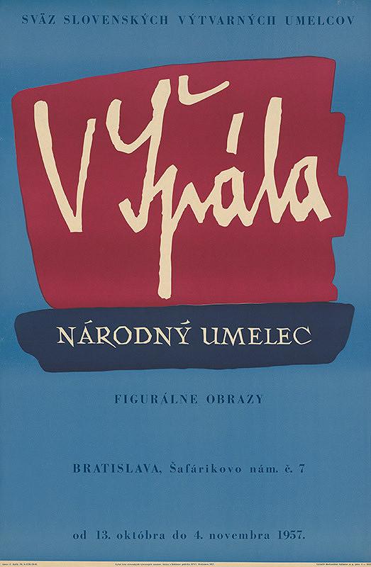 Emil Bačík - Figurálne obrazy Václav Špála