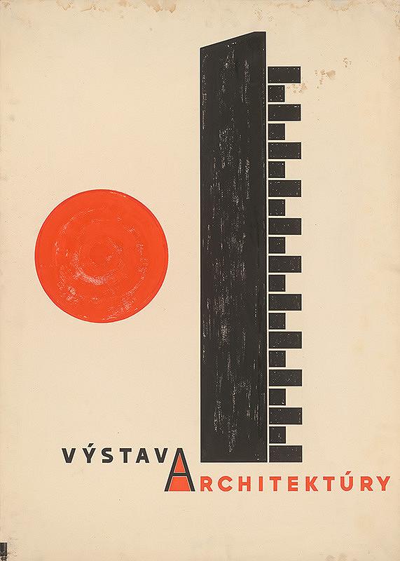 Viktor Holešťák-Holubár – Výstava architektúry