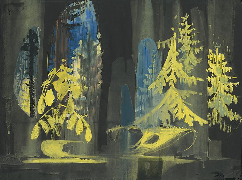 Leoš Janáček:Príhody líšky Bystroušky,1973, Städtisches Theater, Lipsko, réžia: Gerhard Lohse.