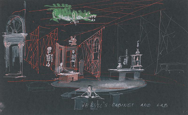 Robert Louis Stevenson: Podivný prípad doktora Jekylla a pána Hyda, 1986, San Diego Repertory Theatre, Lyceum Stage, réžia: D. Jacobs