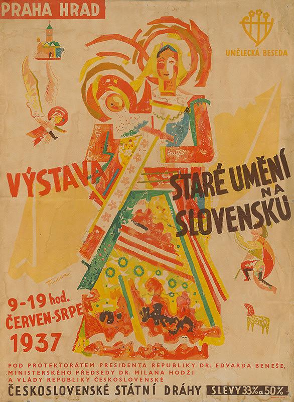 Ľudovít Fulla – Výstava Staré umění na Slovensku