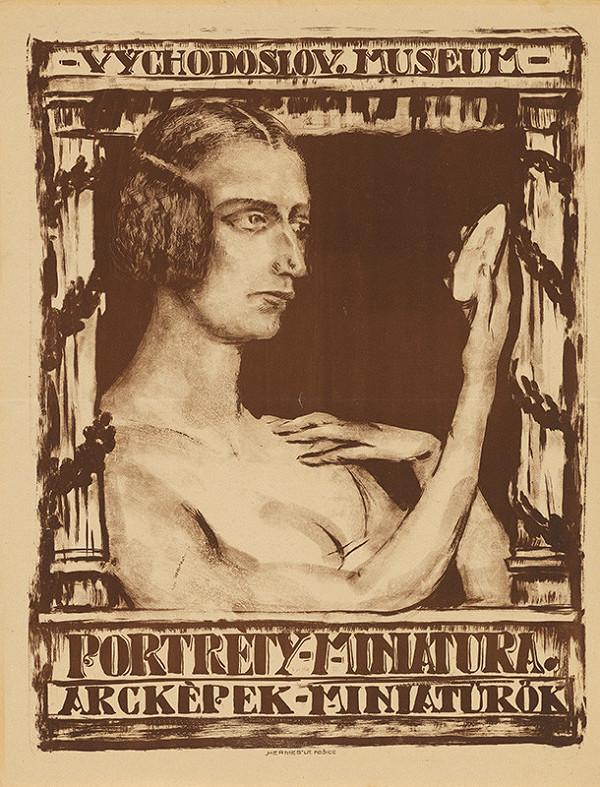 Eugen Krón – Portréty - miniatúra. Arcképek - miniaturók. Východoslov. museum