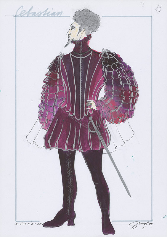 Alexandra Grusková - W. Shakespeare: Búrka XIX. - Sebastian