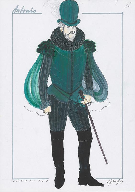 Alexandra Grusková - W. Shakespeare: Búrka XXII. - Antonio