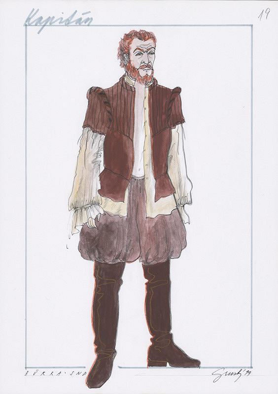 Alexandra Grusková - W. Shakespeare: Búrka XXIV. - Kapitán