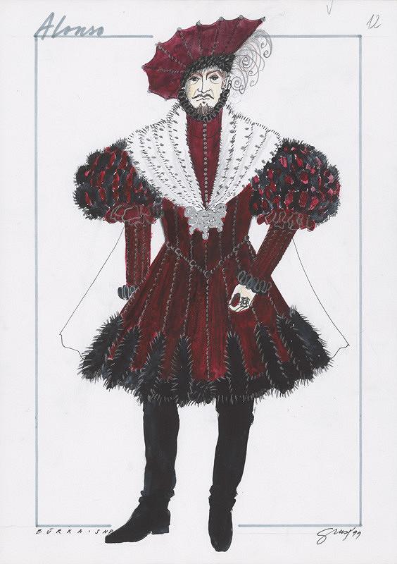 Alexandra Grusková - W. Shakespeare: Búrka IX. - Alonso