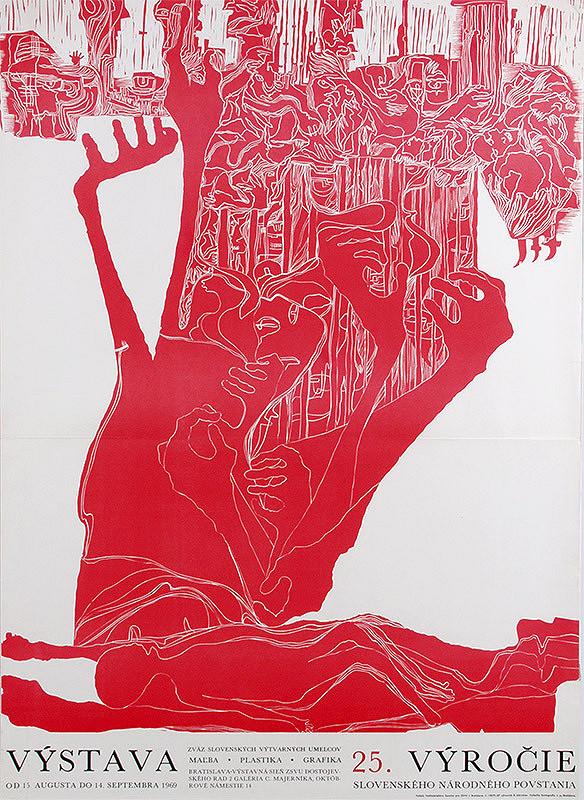 Rudolf Altrichter – Výstava. 25. výročie Slovenského národného povstanie