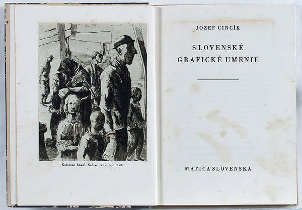 Jozef Cincík – Jozef Cincík: Slovenské grafické umenie