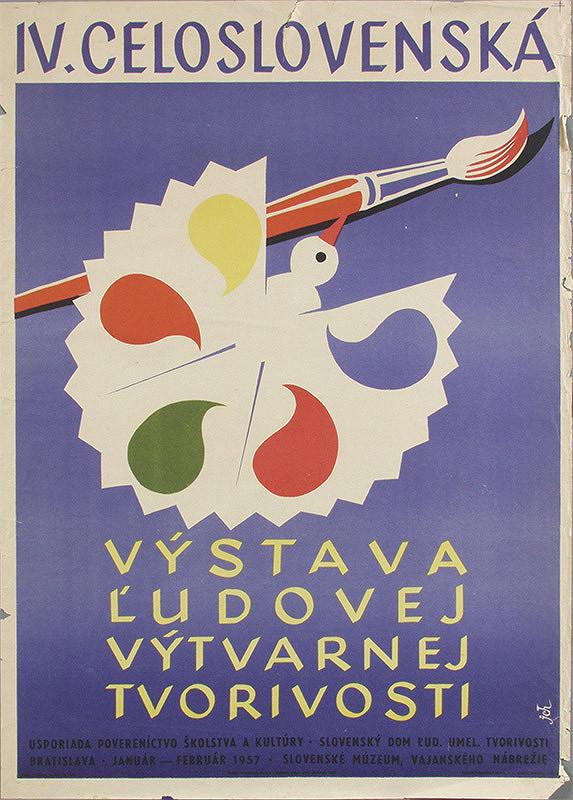 Jozef Chovan – IV. celoslovenská výstava ľudovej tvorivosti