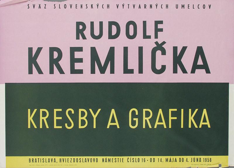 Jozef Chovan – Rudolf Kremlička, 1958, Slovenská národná galéria