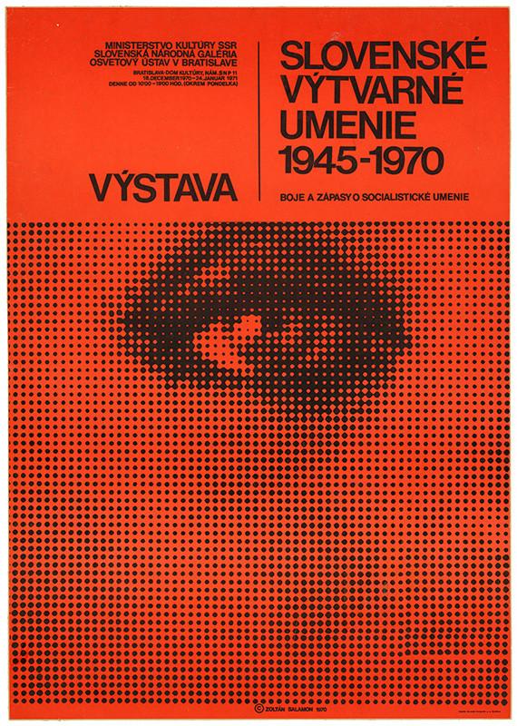 Zoltán Salamon – Výstava Slovenské výtvarné umenie 1945 – 1970, Slovenská národná galéria