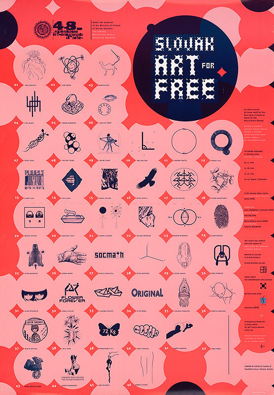 Emil Drličiak - Slovak Art for Free. 48. esposizione internationale d´arte