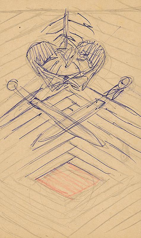 Emil Drličiak – W. Shakespeare: Macbeth. Grafický dizajn sprievodných prvkov - motív