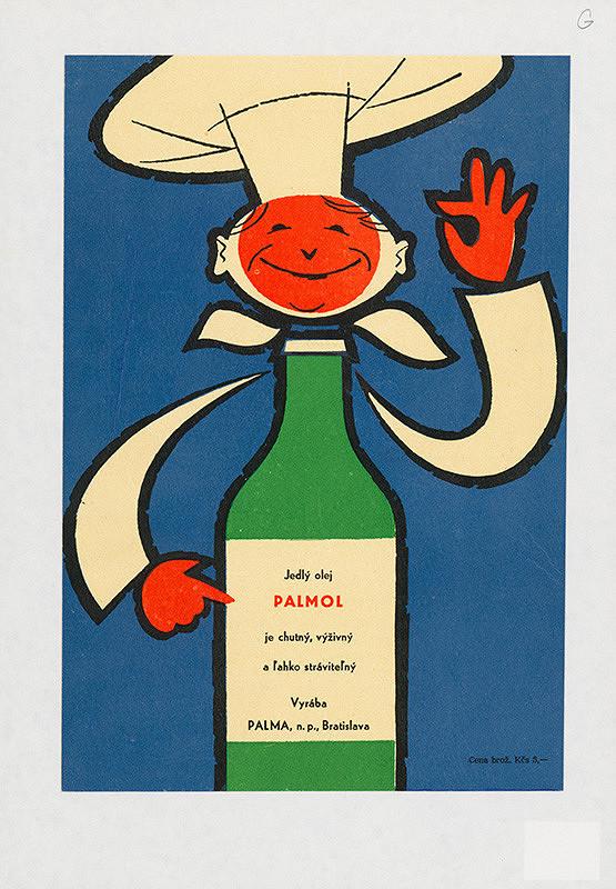 Alfred Július Černo – Jedlý olej Palmol je chutný, výživný a ľahko stráviteľný.