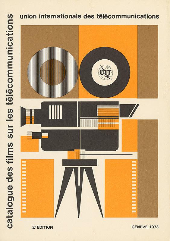 Alfred Július Černo – Catalogue des films sur les télécomunications. 2ème edition. UIT.