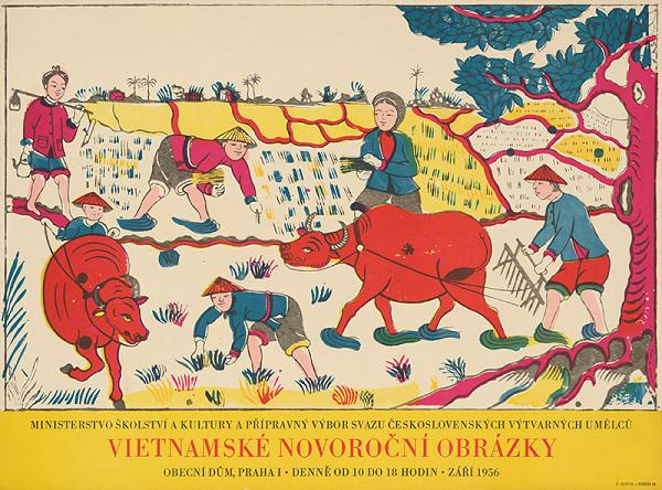 Český autor - Vietnamské novoročné obrázky