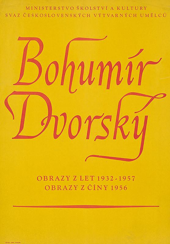 Český autor - Obrazy - Bohumír Dvorský