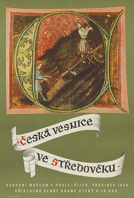 Český autor - Česká dedina v stredoveku