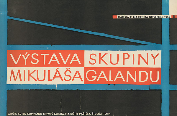 Slovenský autor – Výstava skupiny Mikuláša Galandu