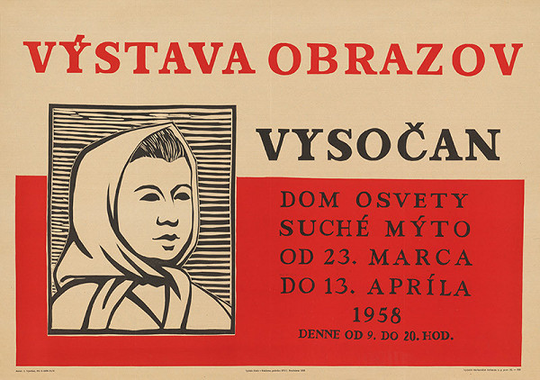 Imrich Vysočan – Výstava obrazov - Vysočan