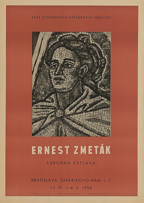 Slovenský autor – Súborná výstava - Ernest Zmeták