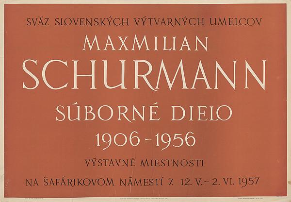 Emil Bačík - Súborné dielo - Maximilián Schurmann