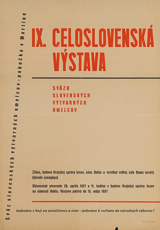 Slovenský autor – IX.celoslovenská výstava SZVU