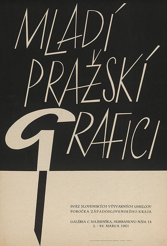 Slovenský autor - Mladí pražskí grafici