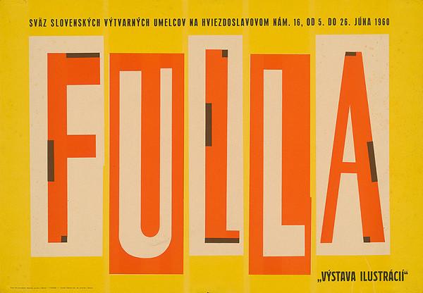 Neznámy autor – Výstava ilustrácií - Fulla