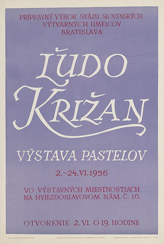 Emil Bačík - Výstava pastelov-Ľudo Križan