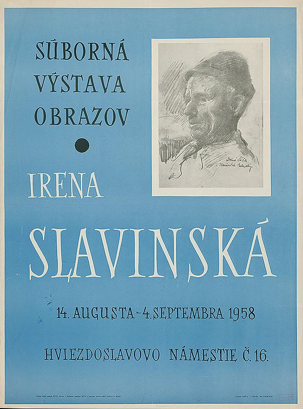 Emil Bačík - Súborná výstava obrazov - Irena Slavinská