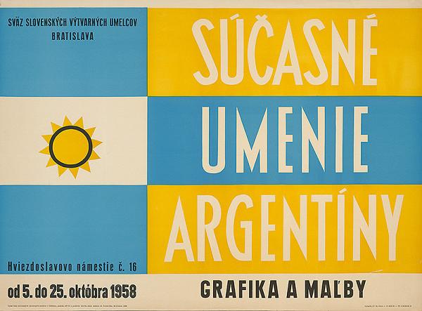 Marián Čunderlík - Súčasné umenie Argentíny