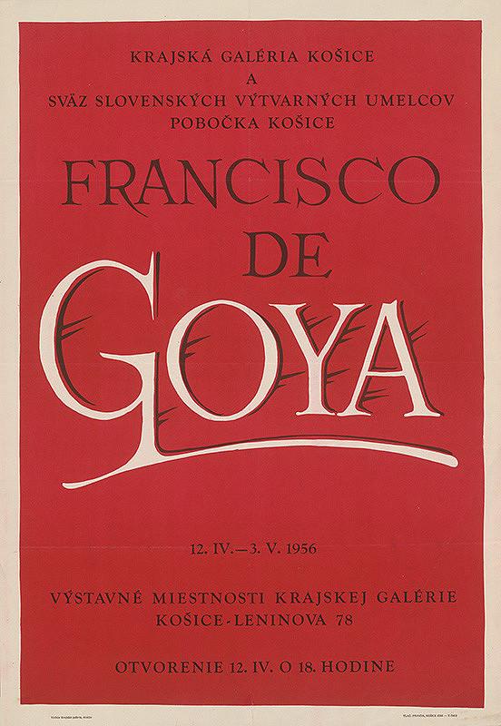 Anton Hollý – Francisco de Goya
