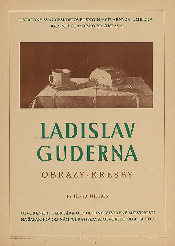 Ladislav Guderna – Ladislav Guderna. Obrazy, kresby.